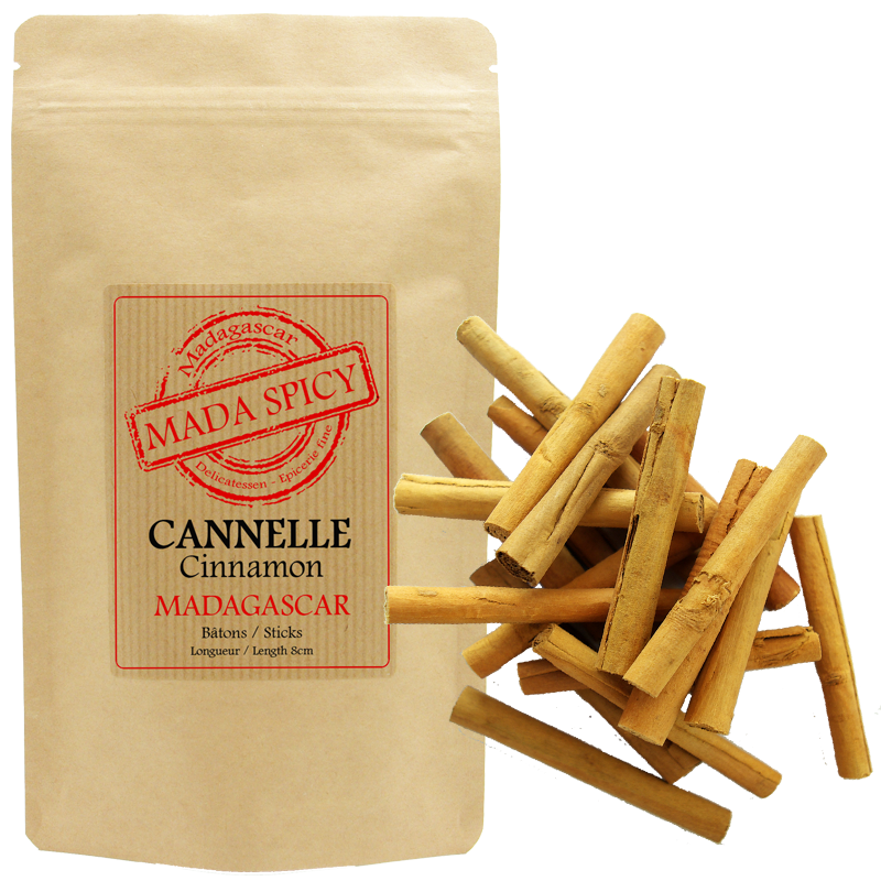 Mada Spicy / Ceylon Cinnamon Sticks from Madagascar