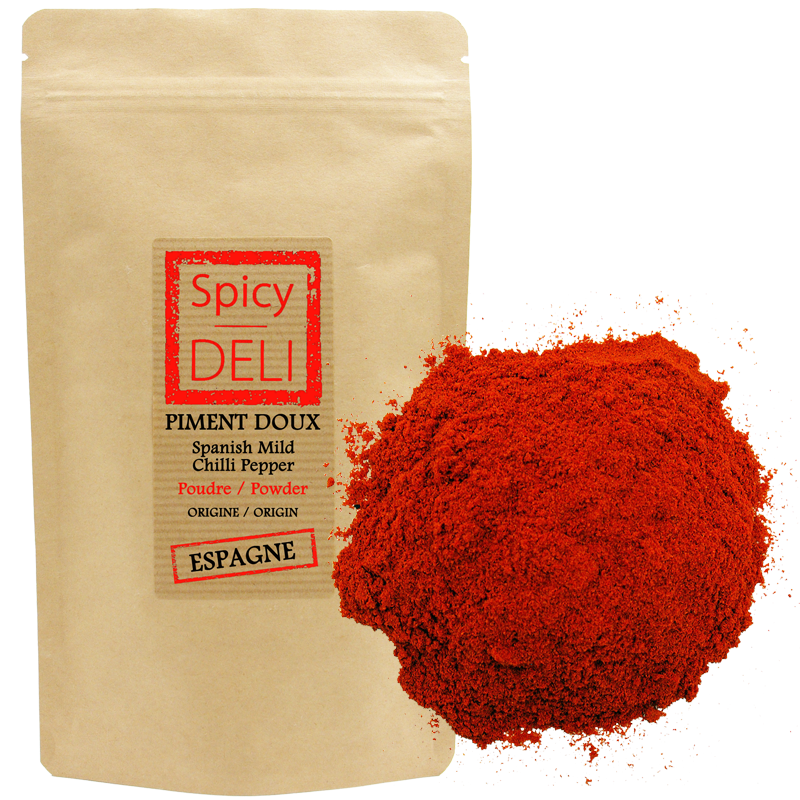 Spanish mild chilli pepper powder