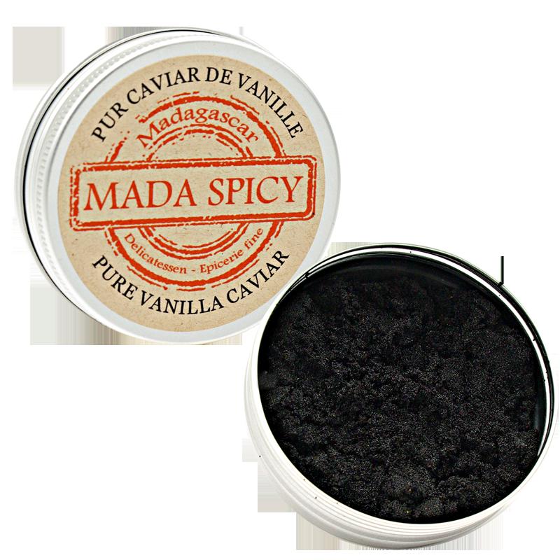 Pure Vanilla Caviar from Madagascar