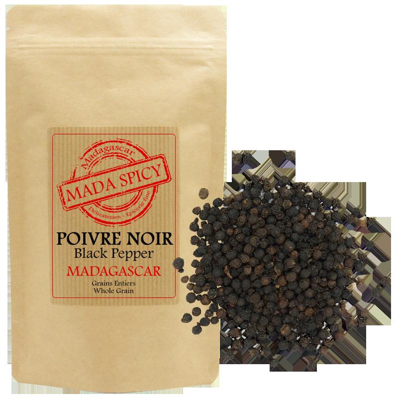 """Mada Spicy / Poivre noir en grains de Madagascar """"Agriculture Durable"""""""
